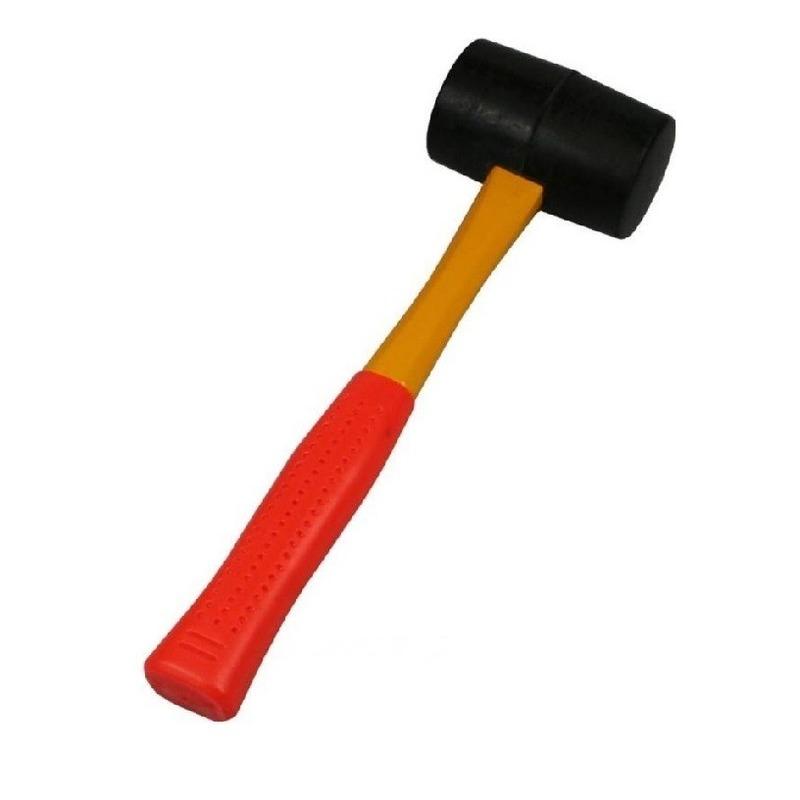 Rubberen hamer / campinghamer 450 gram