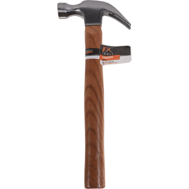 Klauwhamer met houten steel 450 gram 34 cm klusbenodigdheden