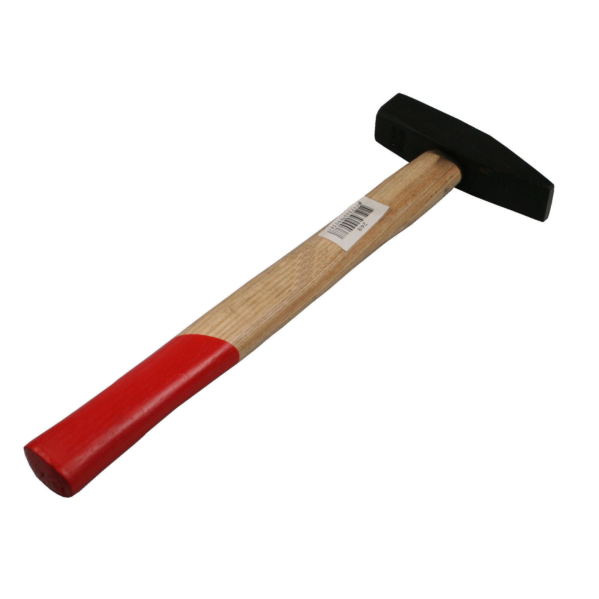 Bankhamer hamer 30 cm met houten steel 500 gram